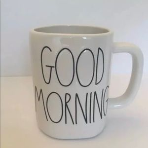 RAE DUNN MUG GOOD MORNING - NEW